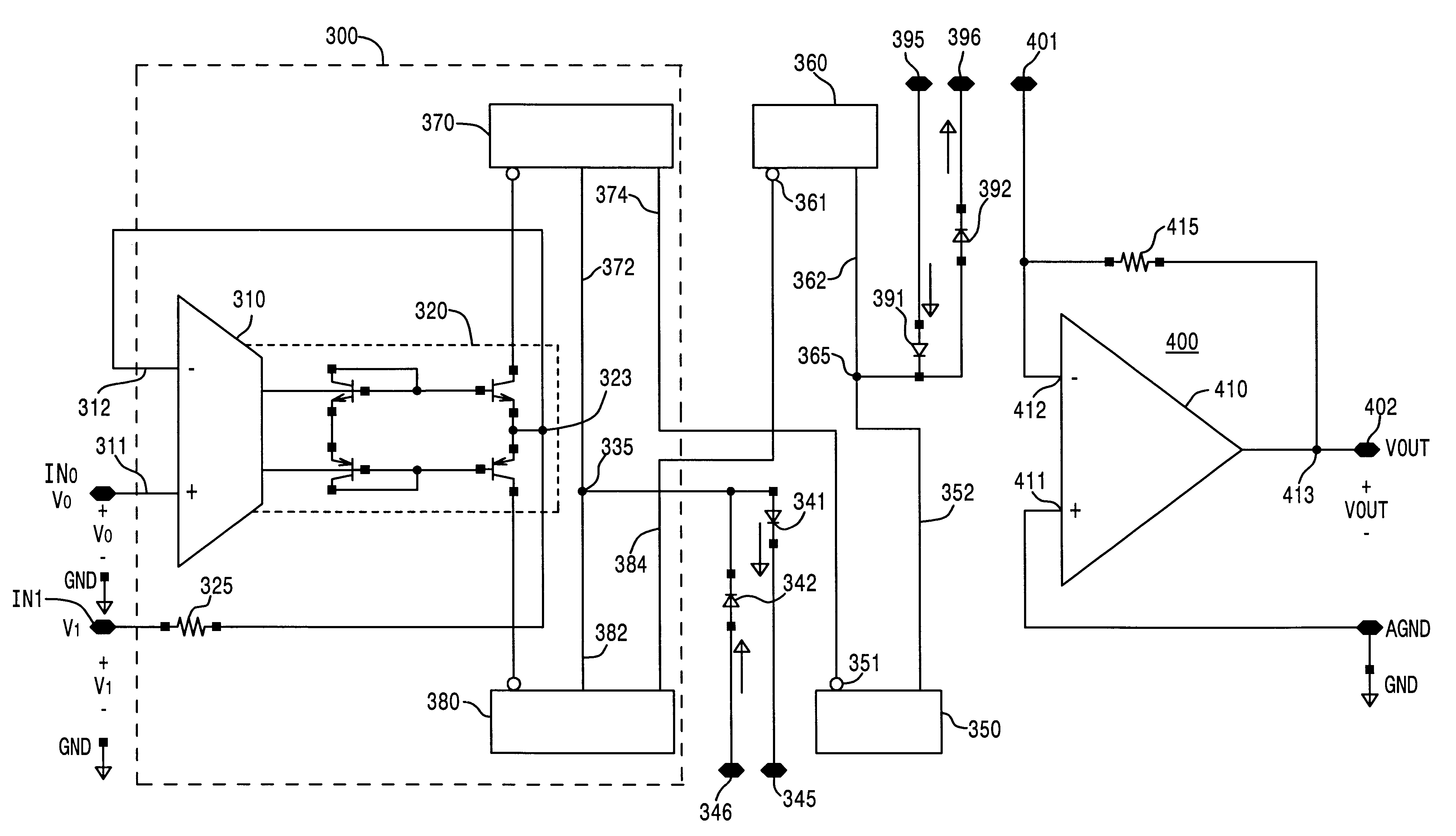 Patent Us 6452450 B1 Full Wave Rectifier Circuit First Claim